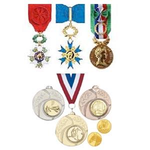 médailles travail