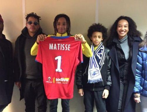 Le club francilien US Villejuif Football annonce le transfert de Matisse Morville, fils de JoeyStarr, à Auxerre (l'Aja)