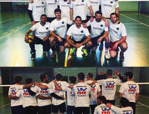 Ce weekend, faites comme nous, venez supporter notre équipe de Volley-Ball de Saint-Cyr-l'école.